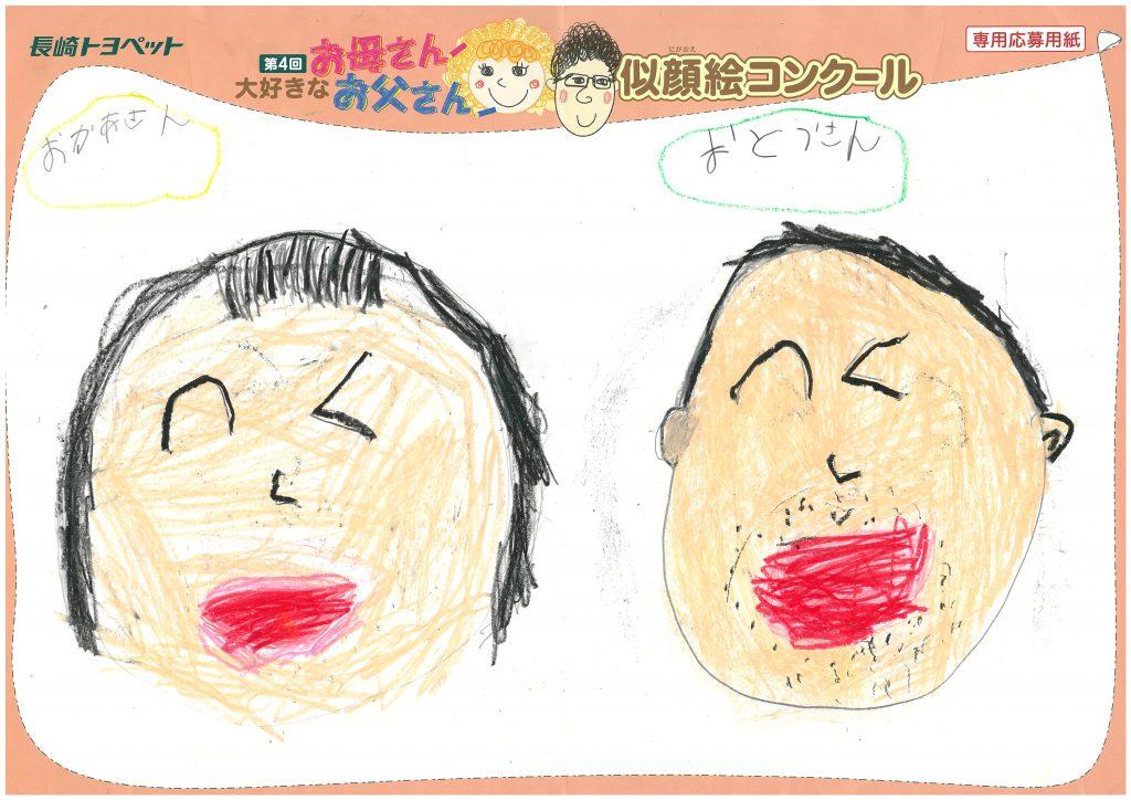 O.Kちゃん(6才)の作品