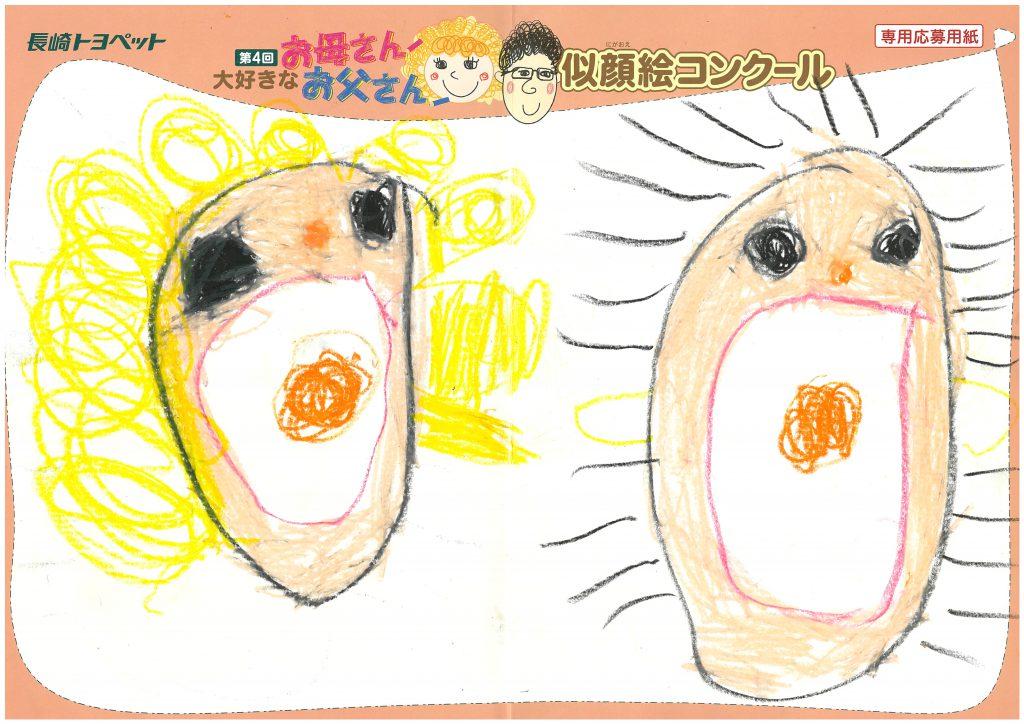 Y.Nちゃん(5才)の作品