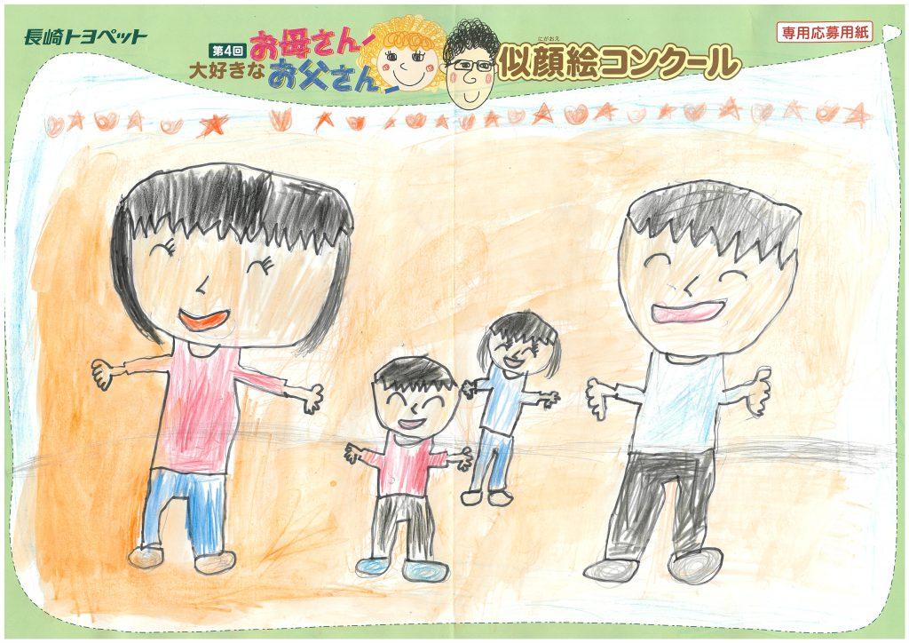 M.Oちゃん(7才)の作品