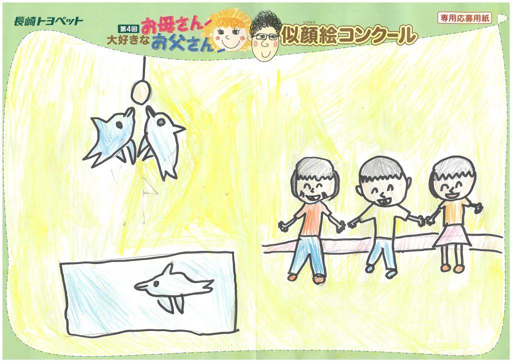 S.Yちゃん(8才)の作品