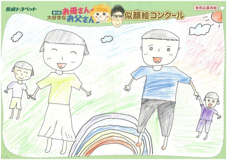 N.Nちゃん(8才)の作品