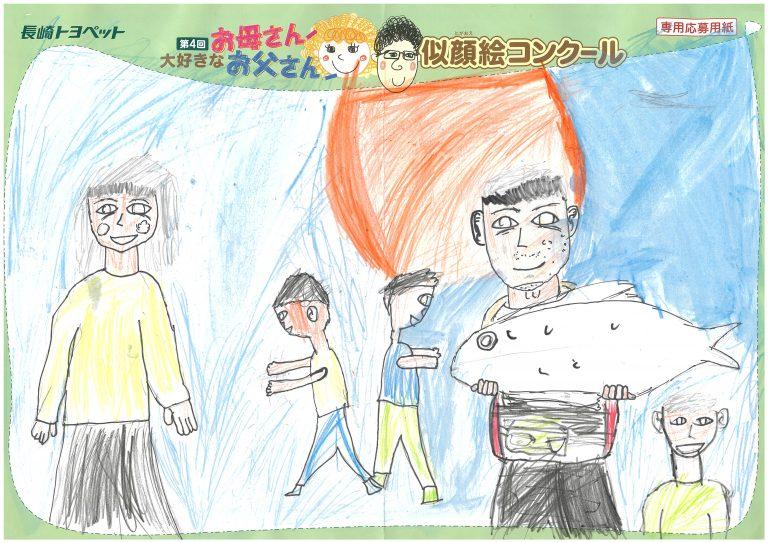 T.Yくん(8才)の作品