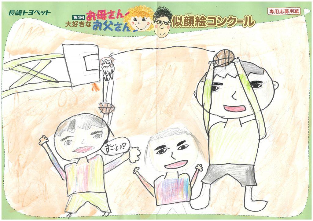 K.Iくん(11才)の作品