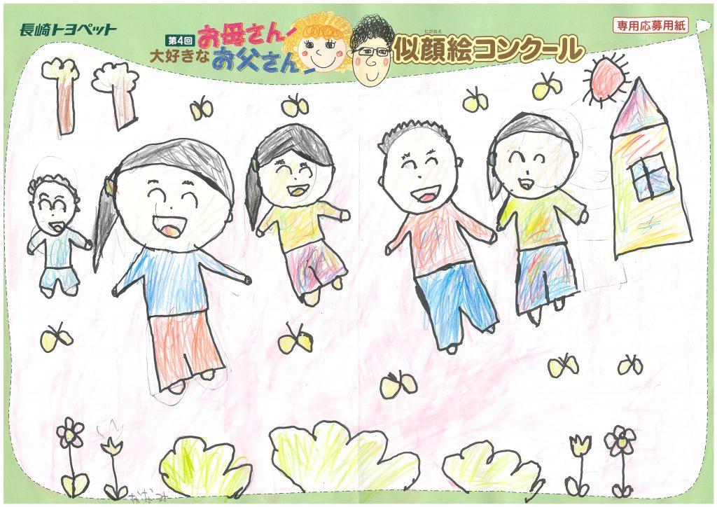 N.Aちゃん(6才)の作品