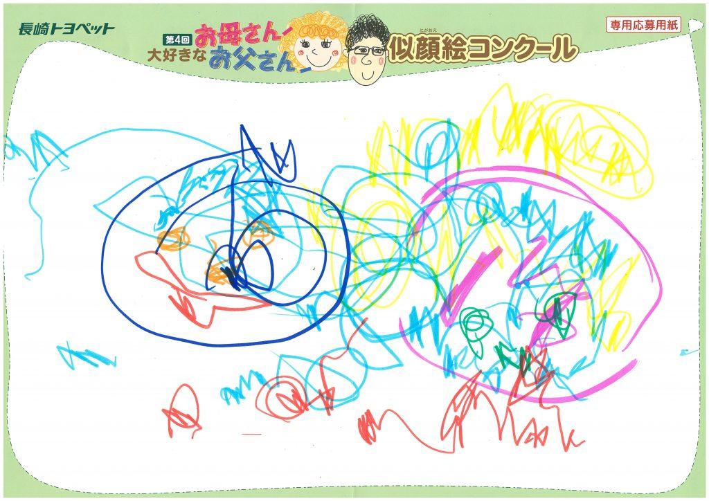S.Yちゃん(2才)の作品
