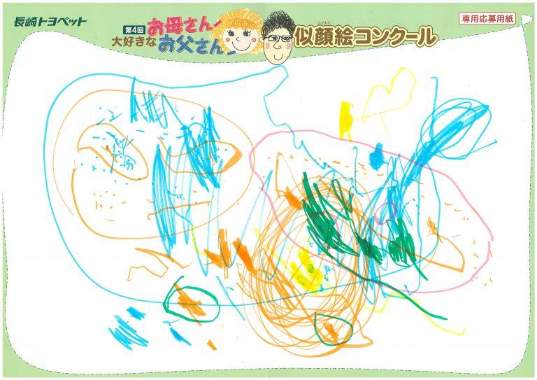 N.Mちゃん(2才)の作品