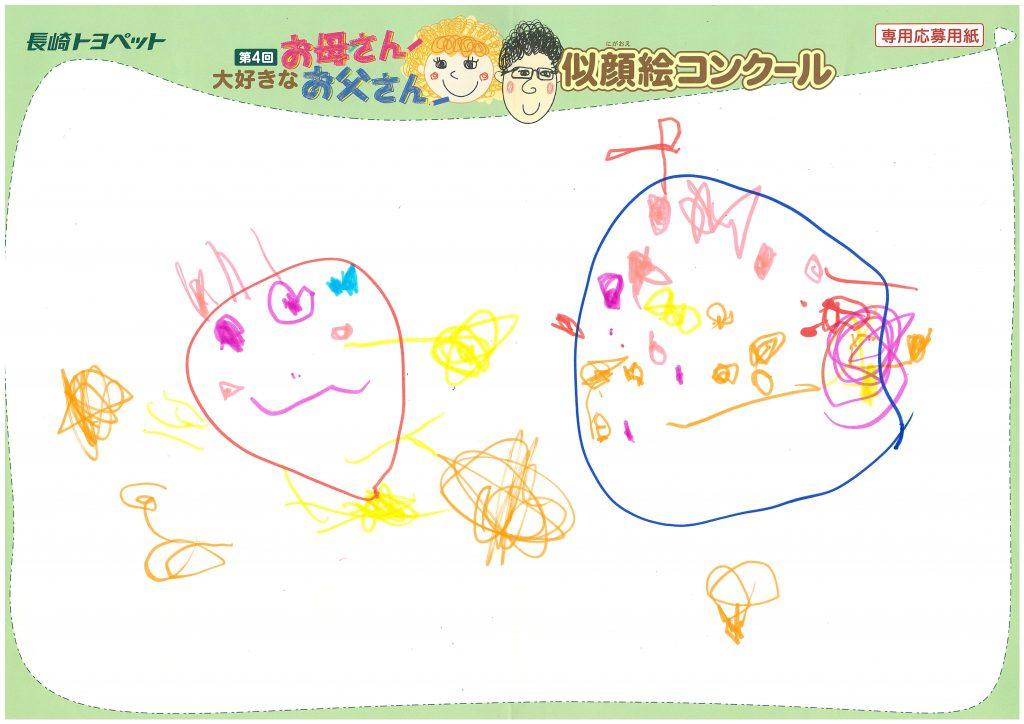 M.Sちゃん(2才)の作品