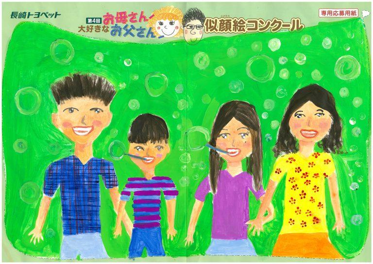 M.Kちゃん(10才)の作品