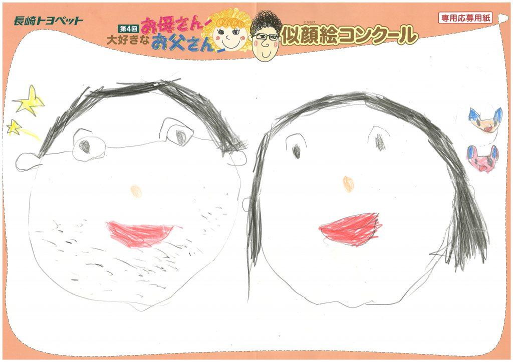 S.Mちゃん(5才)の作品