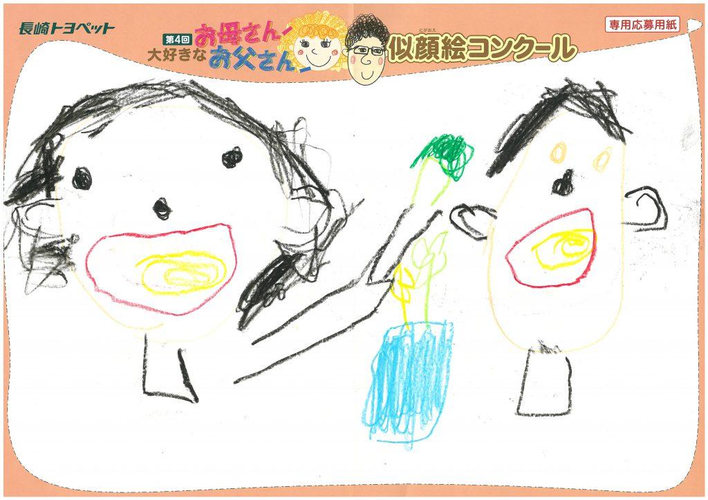 S.Kくん(4才)の作品