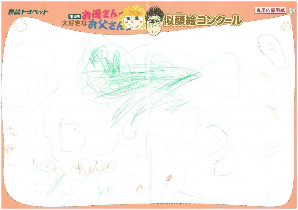 R.Tちゃん(2才)の作品