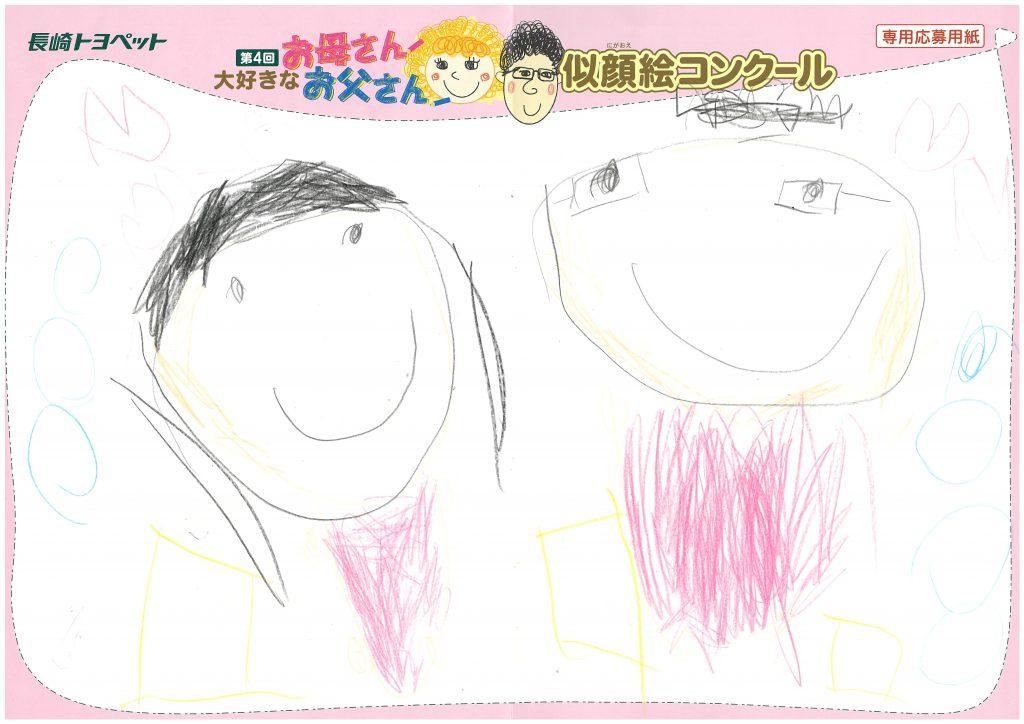 K.Aちゃん(4才)の作品