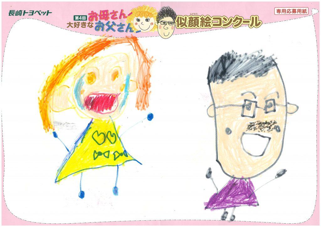 I.Yくん(5才)の作品