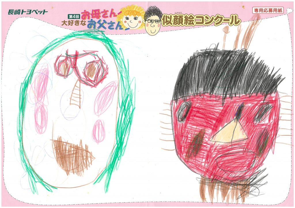 H.Hくん(4才)の作品