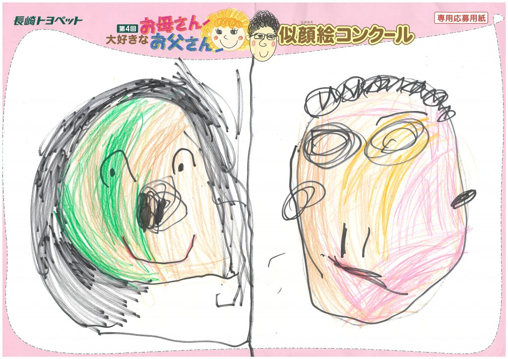 W.Kちゃん(3才)の作品