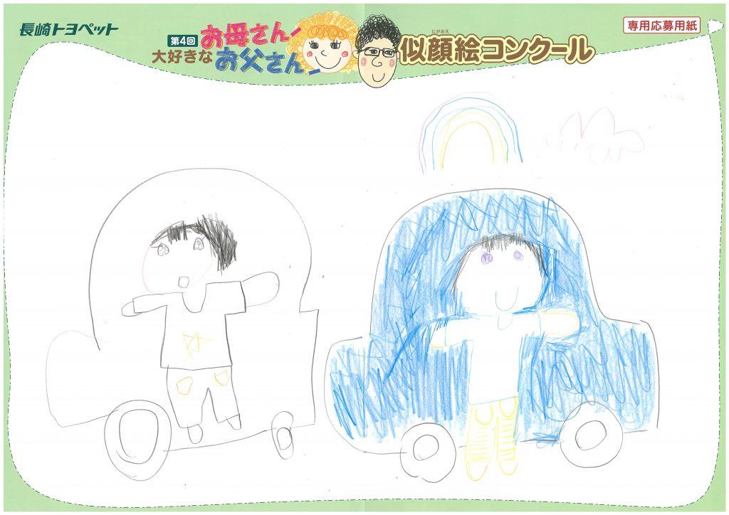 Y.Aちゃん(4才)の作品