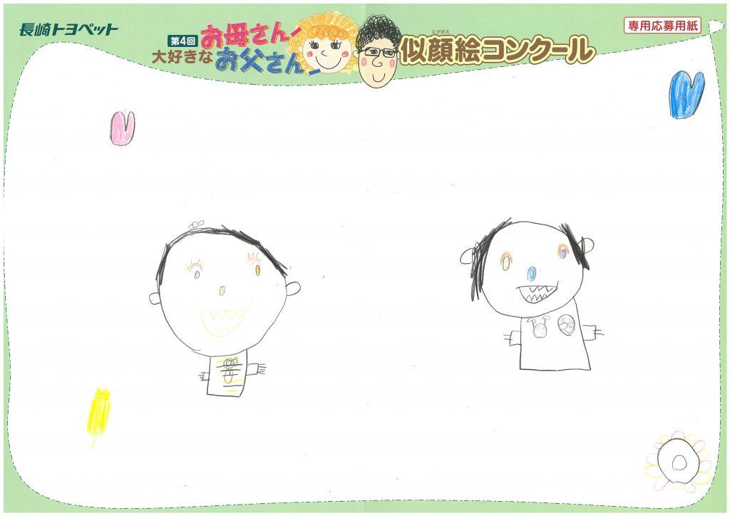 S.Oちゃん(5才)の作品