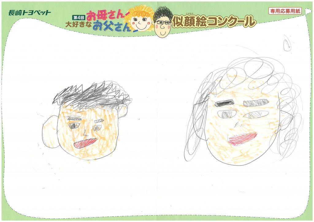 R.Hちゃん(9才)の作品