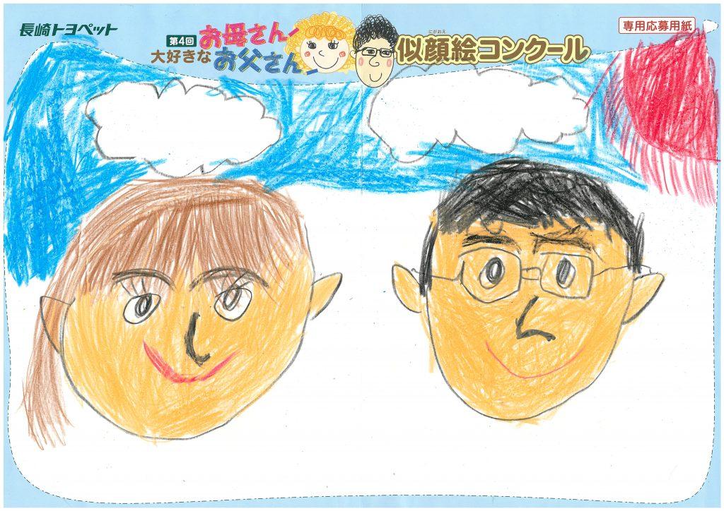 H.Mくん(8才)の作品