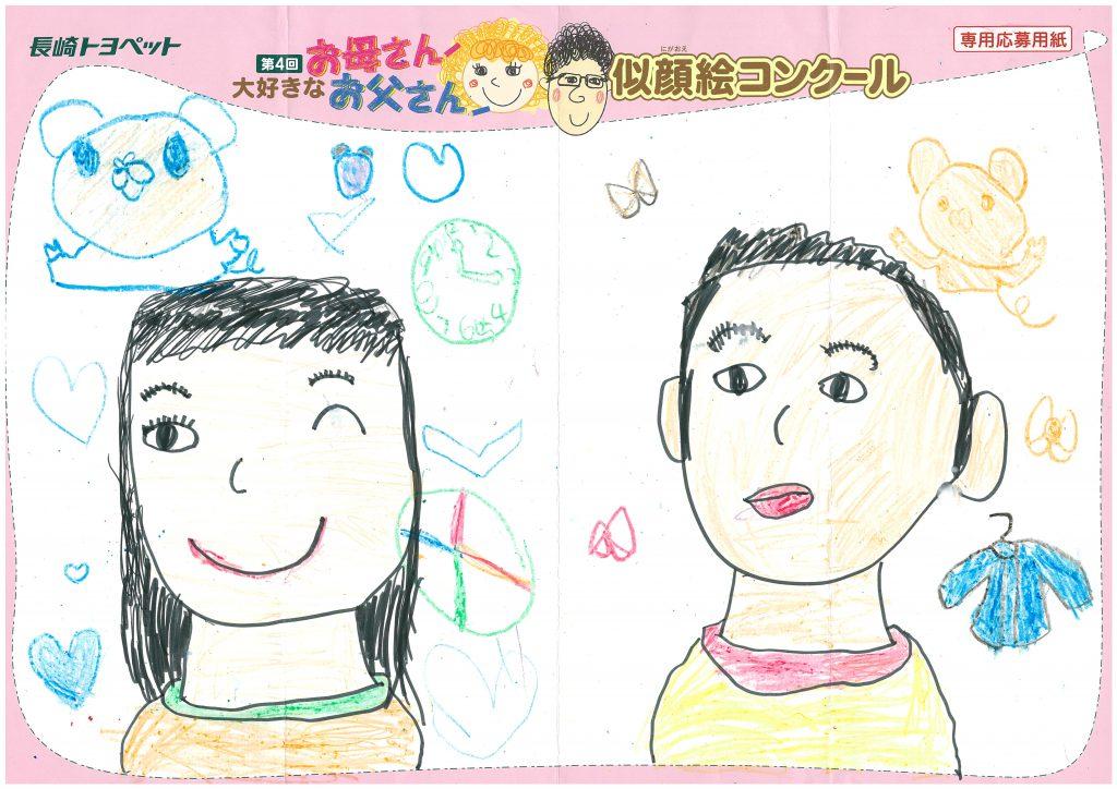 E.Tちゃん(6才)の作品