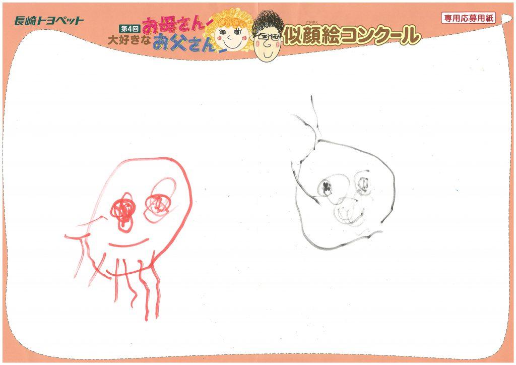 H.Yちゃん(2才)の作品