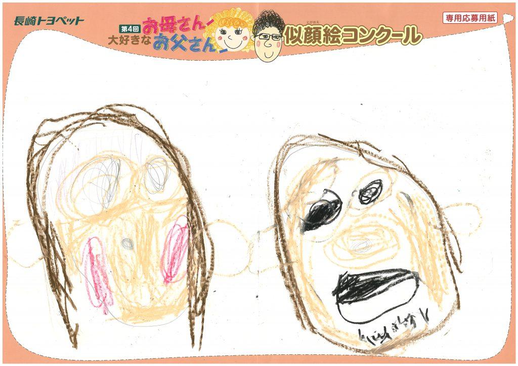 A.Hちゃん(4才)の作品