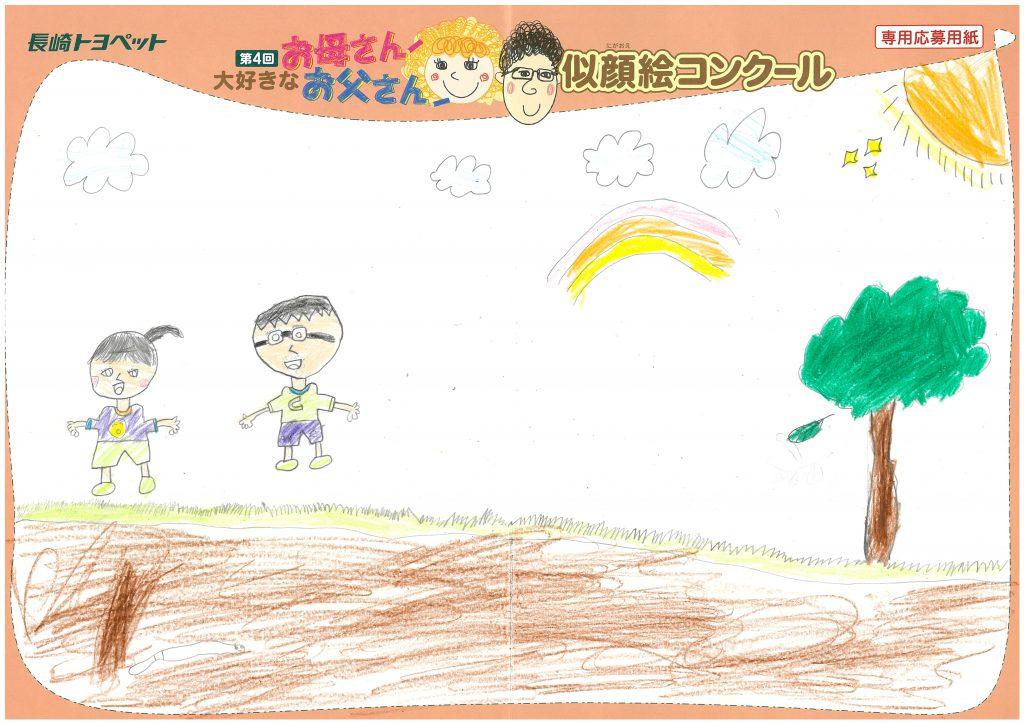 Y.Oくん(7才)の作品
