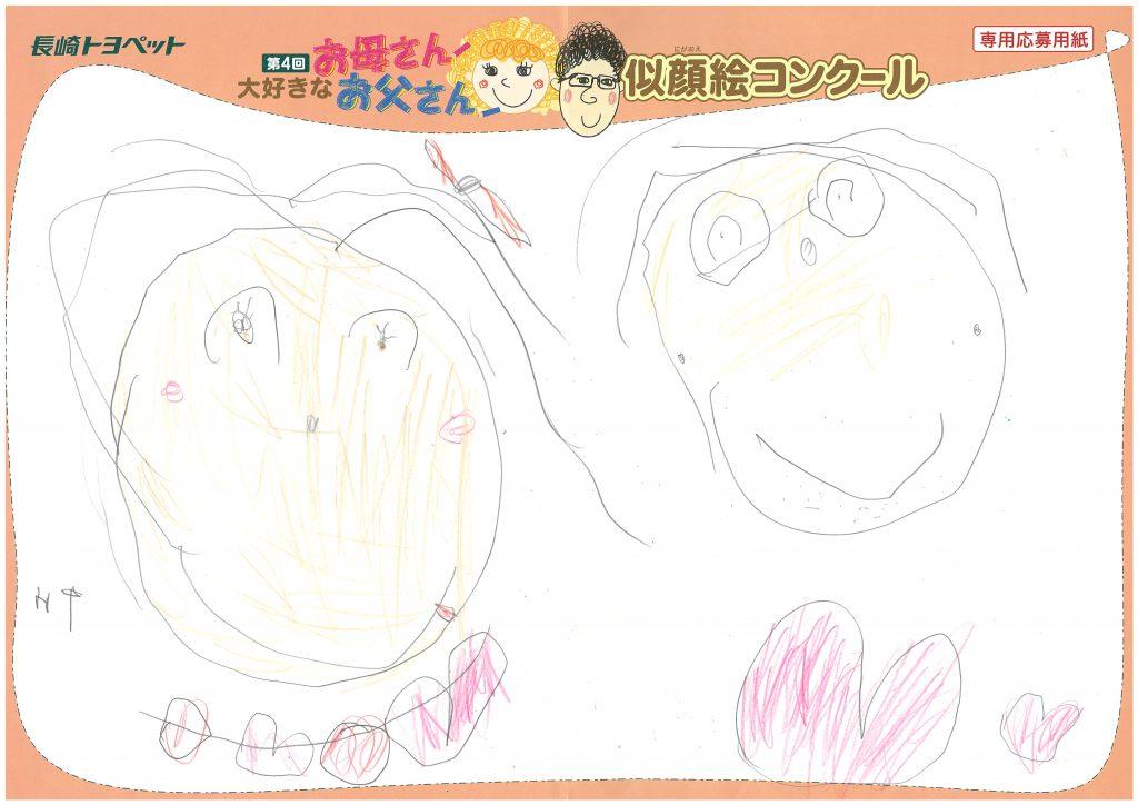 T.Wちゃん(4才)の作品