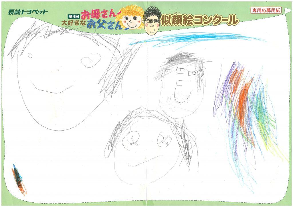 K.Aくん(4才)の作品