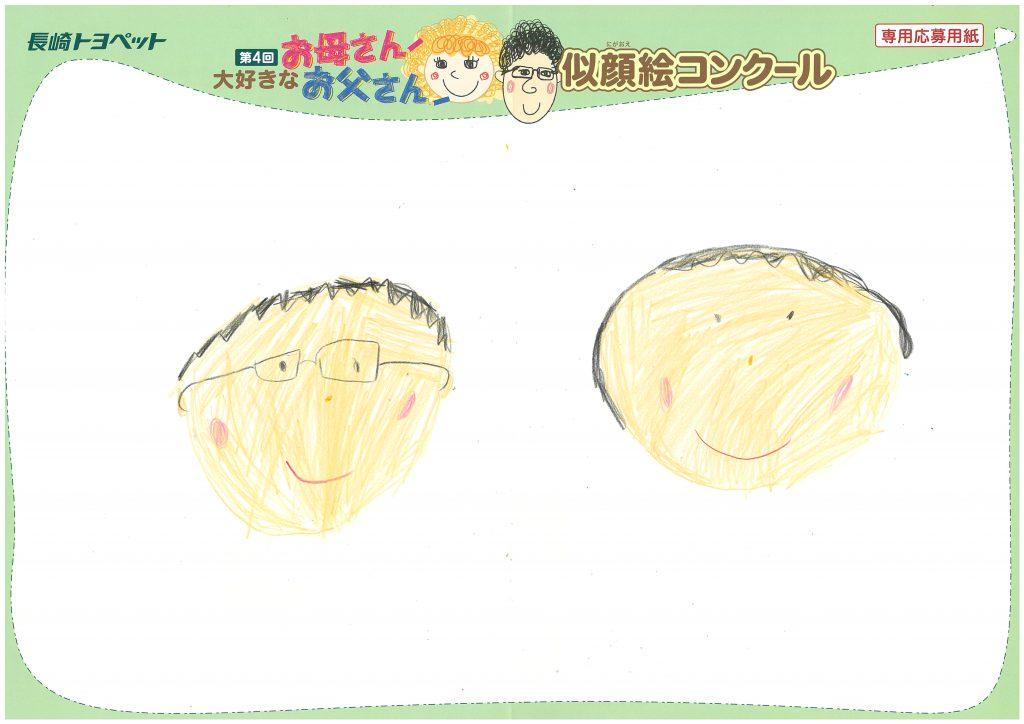 R.Iちゃん(6才)の作品