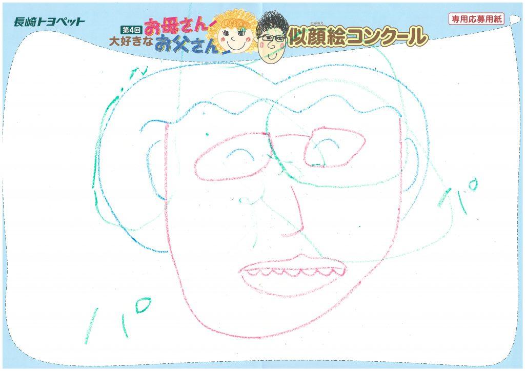 M.Kちゃん(2才)の作品