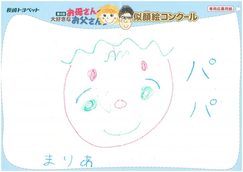 S.Kちゃん(6才)の作品