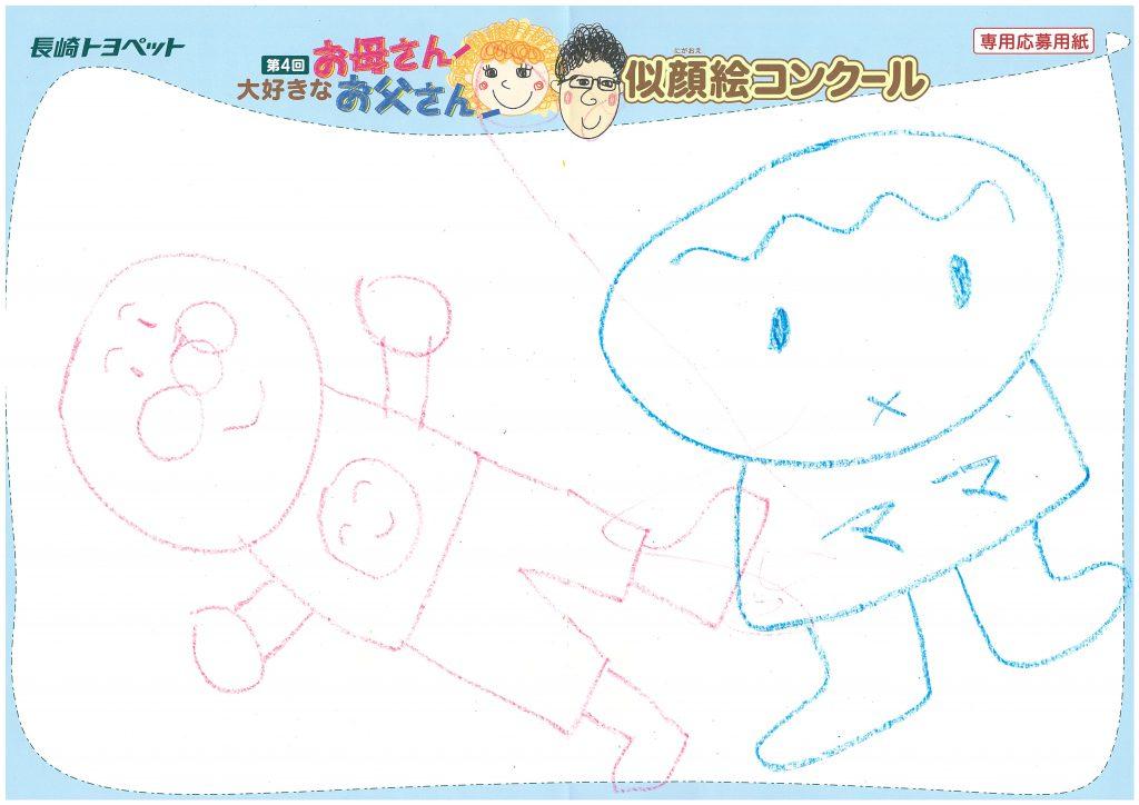 Z.Kちゃん(4才)の作品