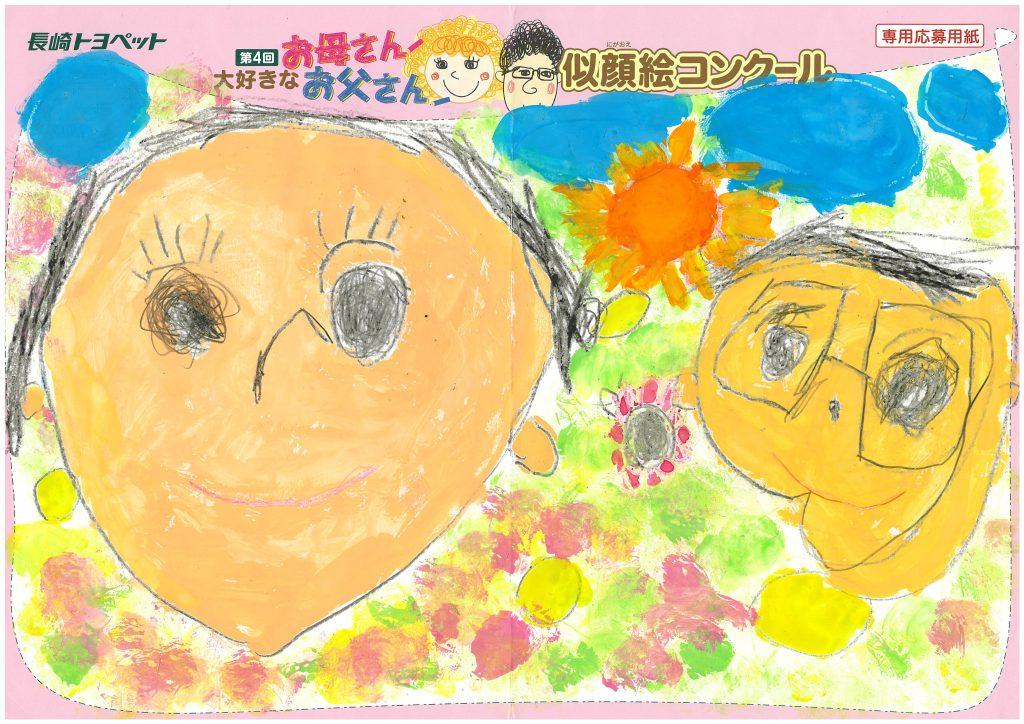 T.Mくん(5才)の作品