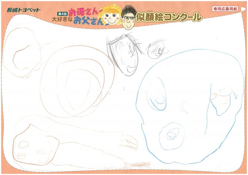 W.Mちゃん(5才)の作品