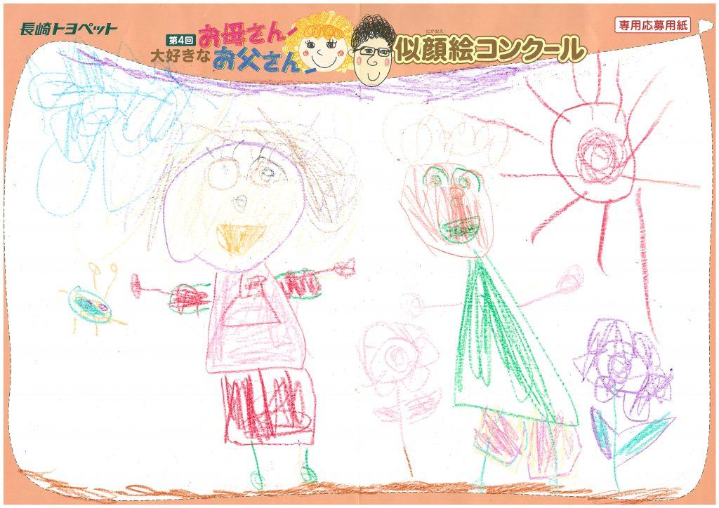 K.Oちゃん(4才)の作品