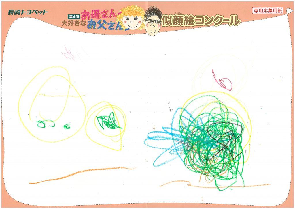 T.Nちゃん(2才)の作品