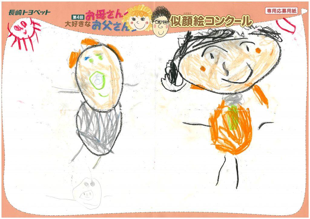 T.Nくん(3才)の作品