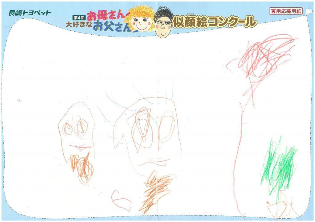 H.Nちゃん(3才)の作品