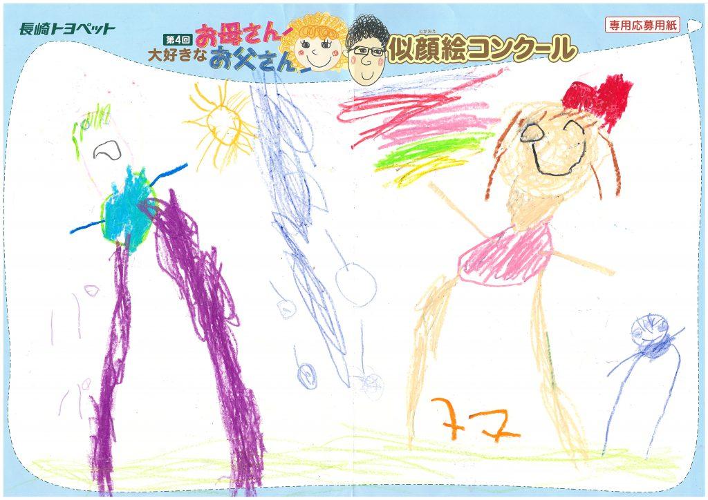 Y.Nちゃん(4才)の作品