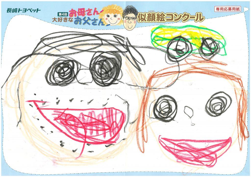 H.Kくん(4才)の作品