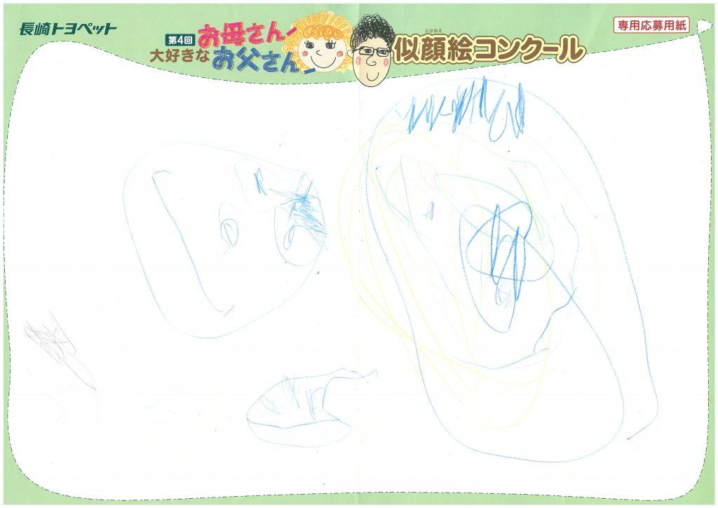 Z.Sくん(3才)の作品