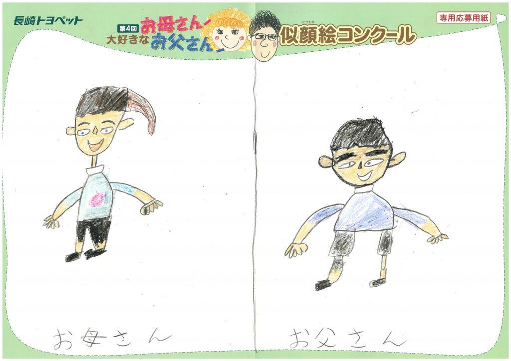 Y.Hくん(9才)の作品