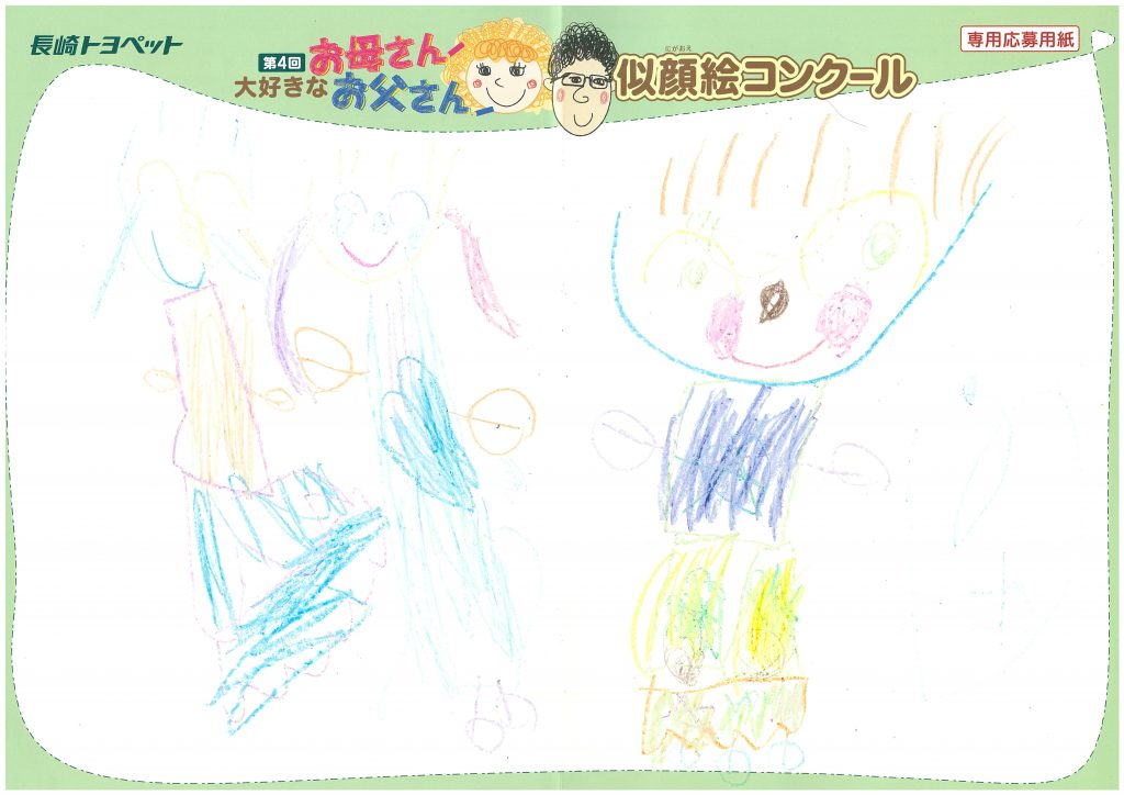 N.Oちゃん(4才)の作品