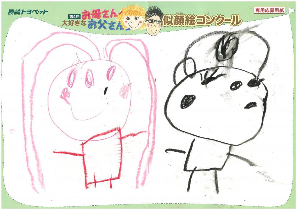 E.Aちゃん(4才)の作品