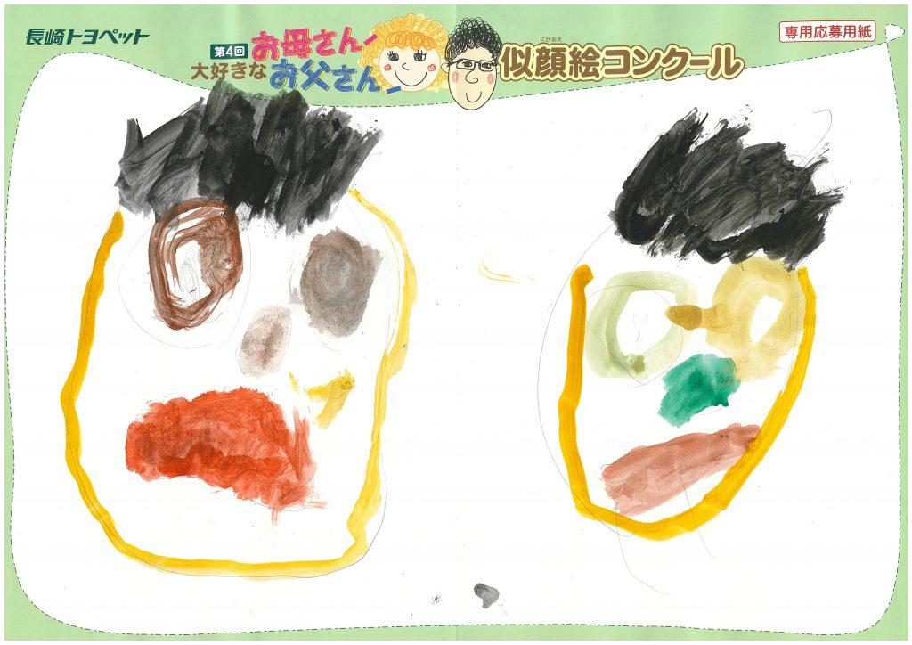 R.Tくん(4才)の作品