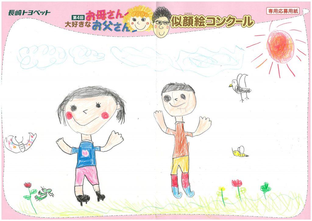 R.Tくん(8才)の作品