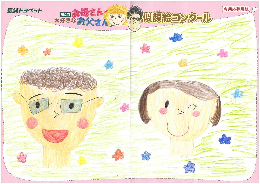 S.Sちゃん(7才)の作品
