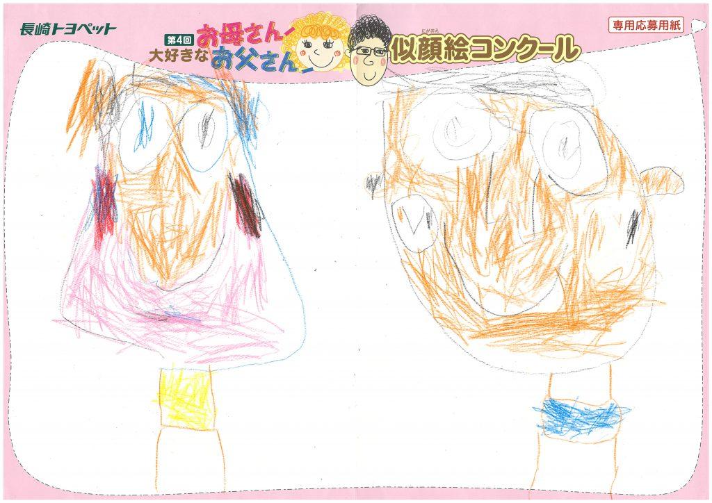 Y.Hくん(4才)の作品