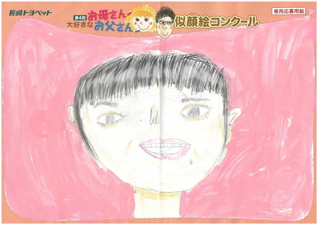 M.Iちゃん(6才)の作品